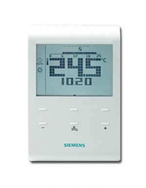 siemens rde100 1dhw klimacontrol siemens thermostats time switches. Black Bedroom Furniture Sets. Home Design Ideas